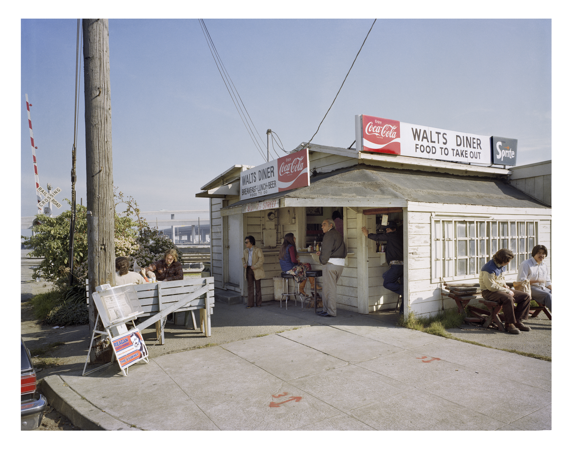 Walt's Diner, 7th at King Street, 1981 Archival Pigment Print, 2016 16 x 20 inches, edition of 5 20 x 24 inches, edition of 2 30 x 40 inches, edition of 2