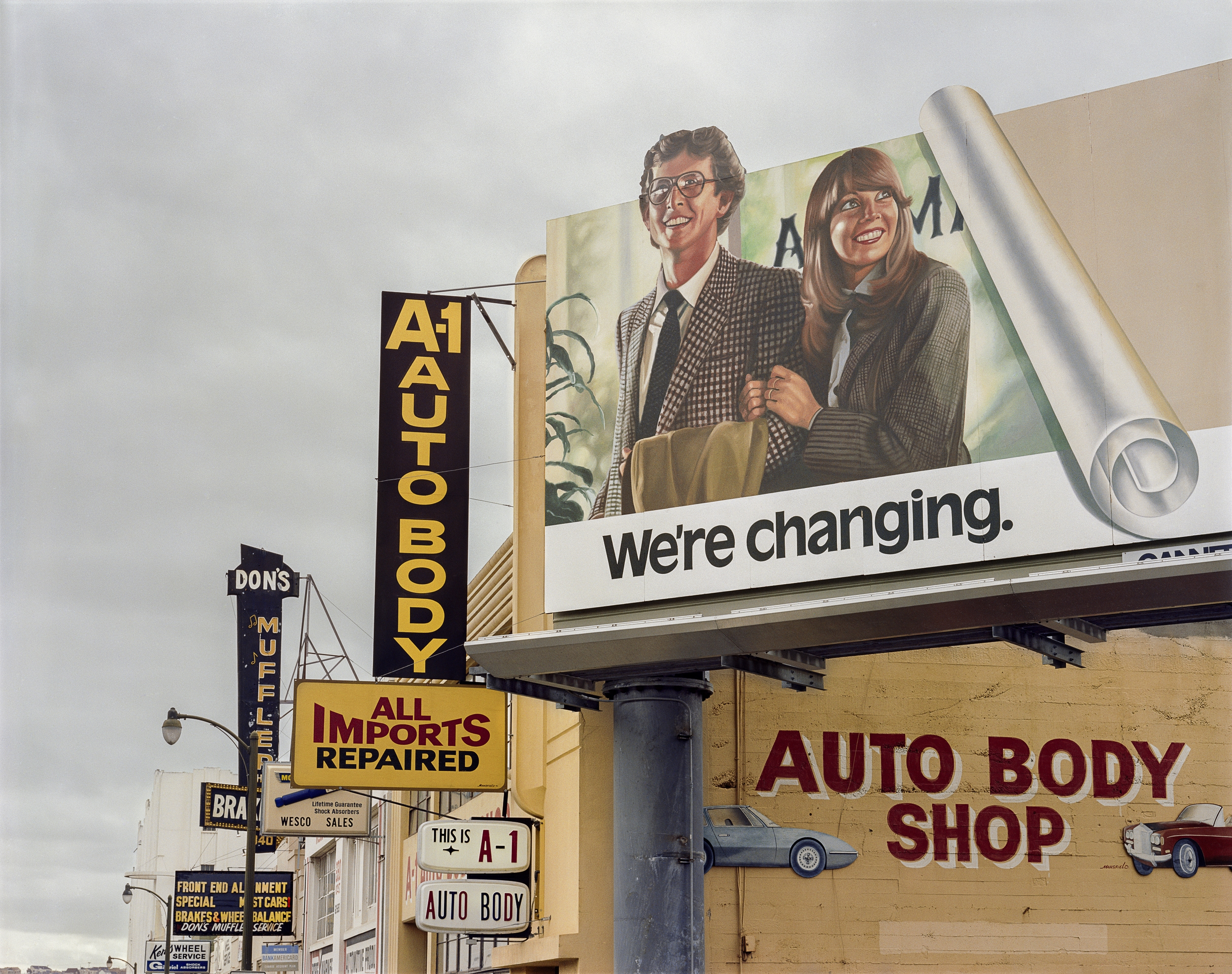 JANET DELANEY 10th at Folsom Street, 1982 Archival Pigment Print, 2016  AVAILABLE SIZES 16 x 20 inches, edition of 5 20 x 24 inches, edition of 2 30 x 40 inches, edition of 2