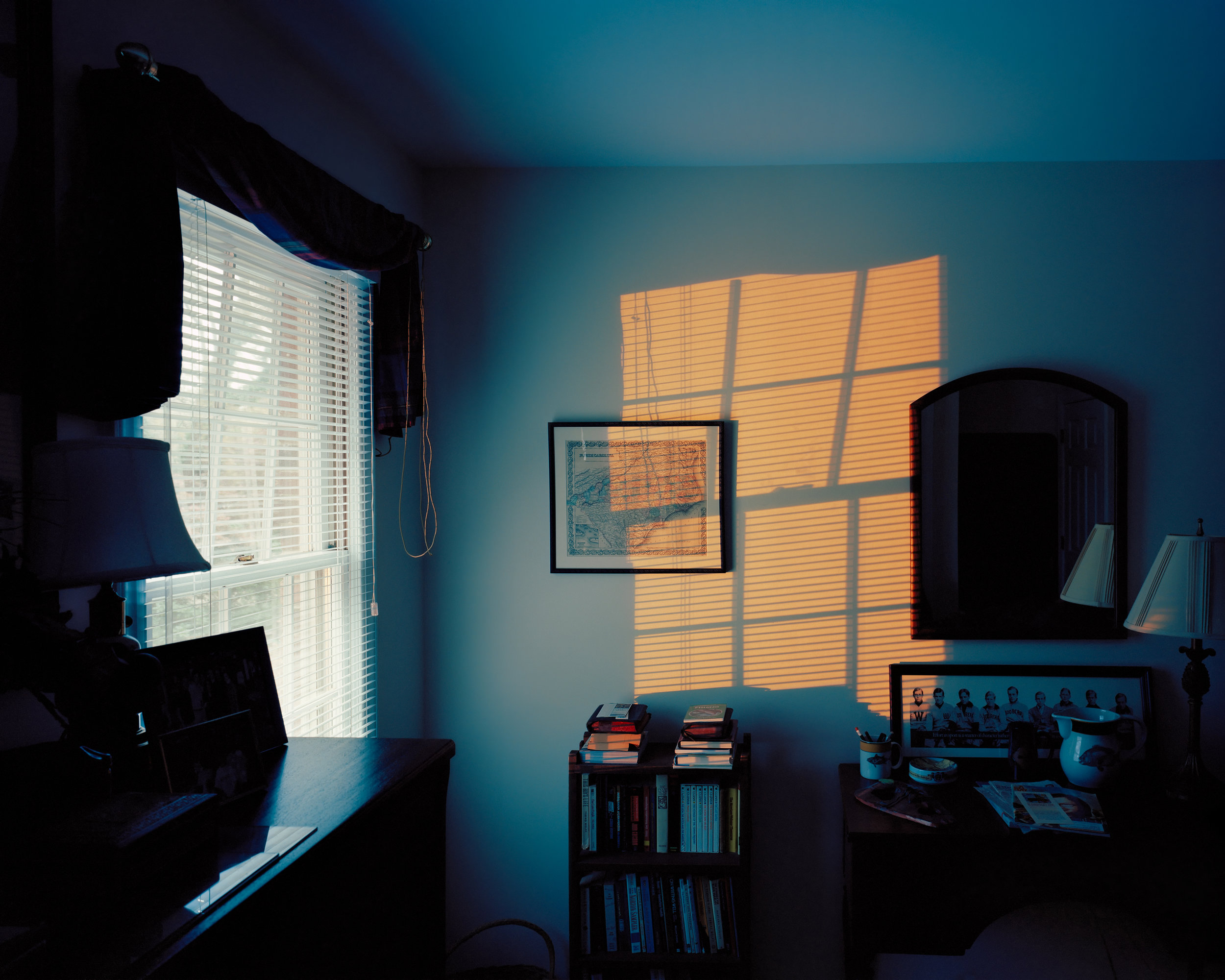 McNAIR EVANS  Floodlight,  2009 from the series  Confessions for a Son  Archival Pigment Print Available sizes 20 x 25 inches, ed. 5 + 1AP 32 x 40 inches, ed. 5 + 1AP
