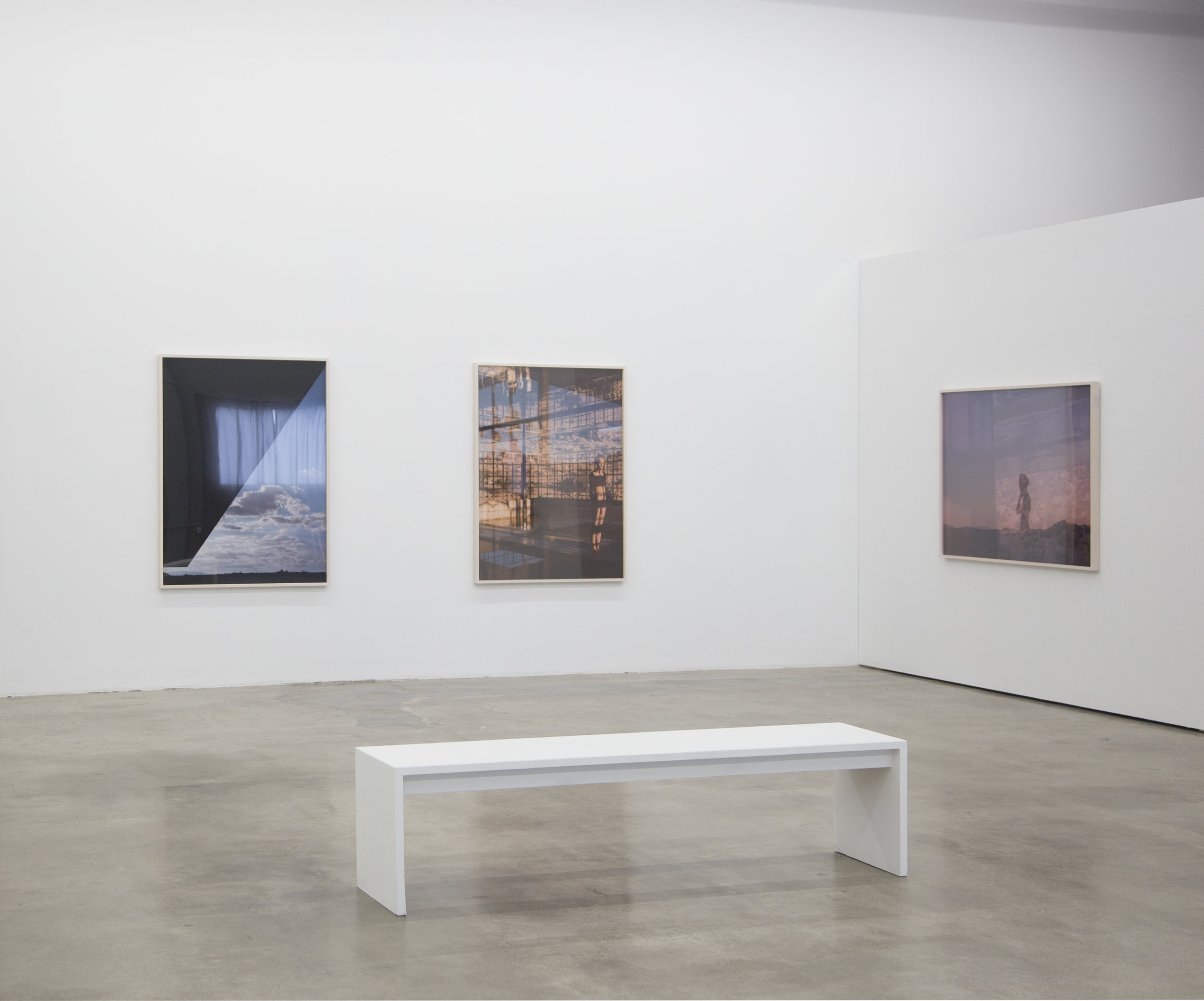 Installation view Mona Kuhn:  New Works,  April 6 - May 14, 2016 at EUQINOM Gallery