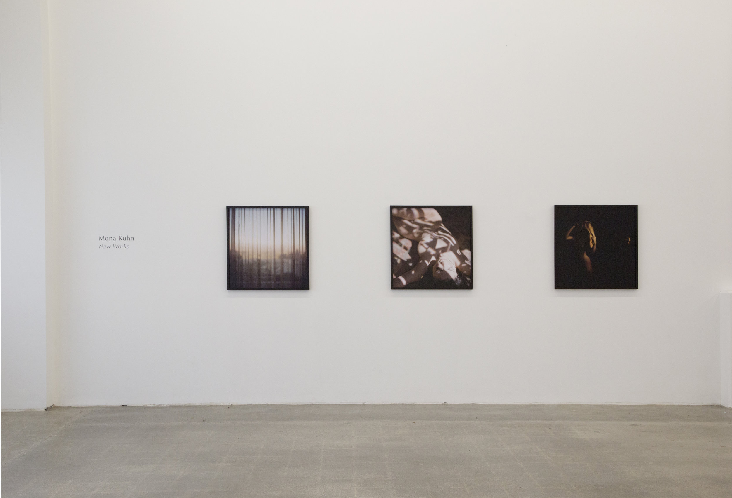 MONA KUHN :  New Works  April 6 - May 14, 2016  EXHIBITION VIEWS  |  PRESS RELEASE