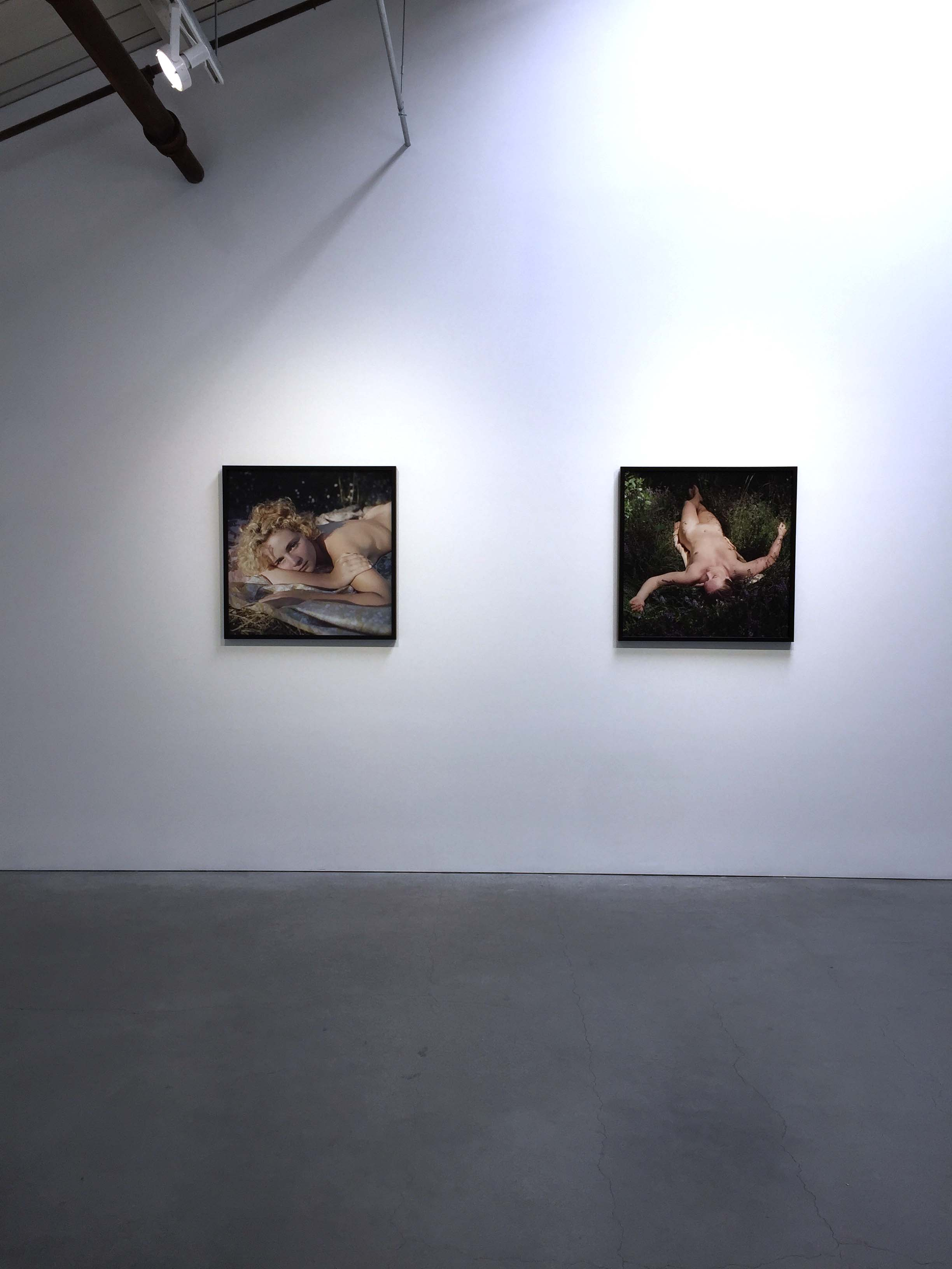 Installation view Mona Kuhn: The First Chapter ,  May 4 - June 10, 2017 at EUQINOM Gallery