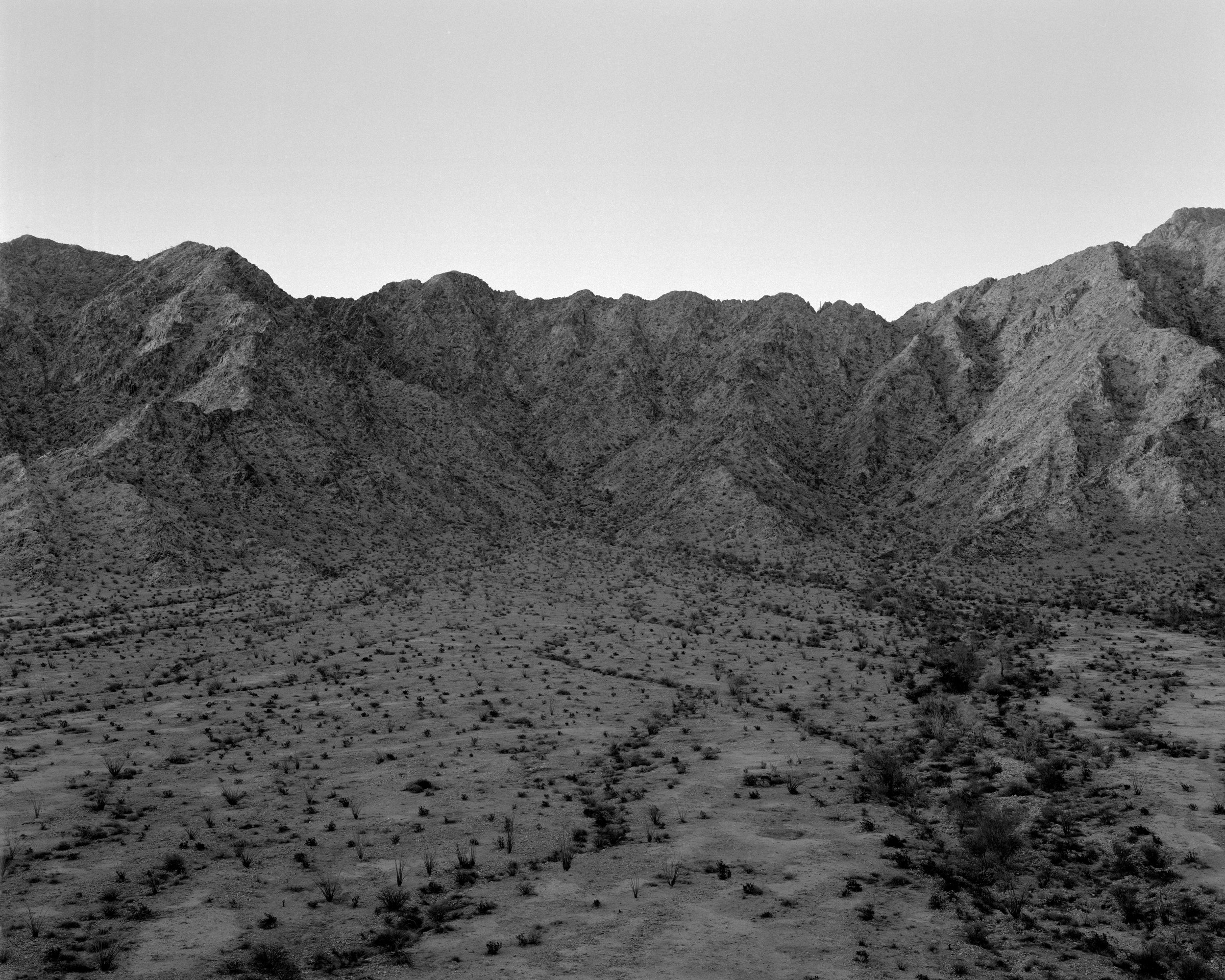 MICHAEL LUNDGREN  Basin, 2005  Gelatin Silver Print  Available sizes 20 x 24 in, ed. 10 + 2AP 32 x 40 in, ed. 3 + 1AP