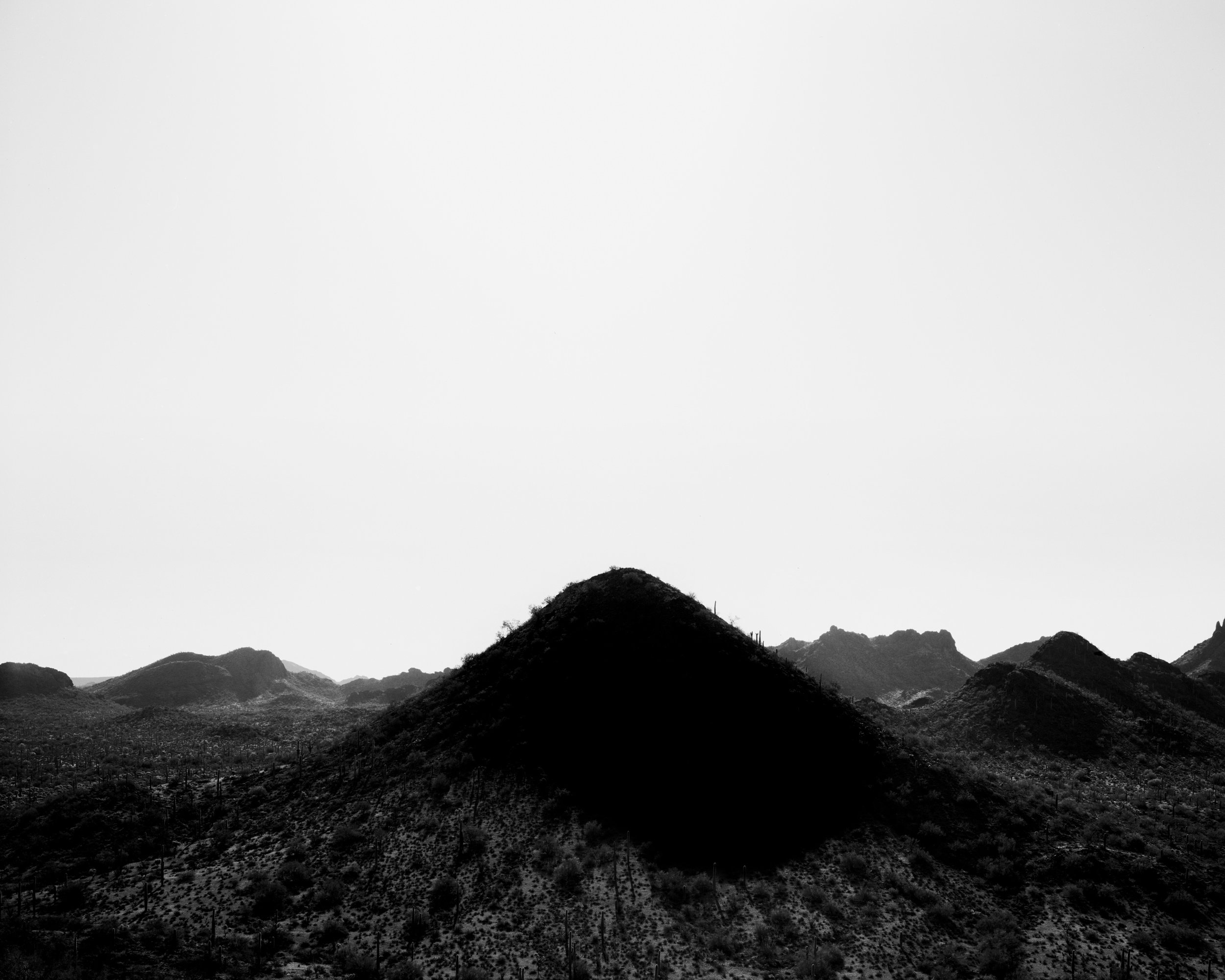MICHAEL LUNDGREN  Cinder Cone, 2004  Gelatin Silver Print  Available sizes 20 x 24 in, ed. 10 + 2AP 32 x 40 in, ed. 3 + 1AP