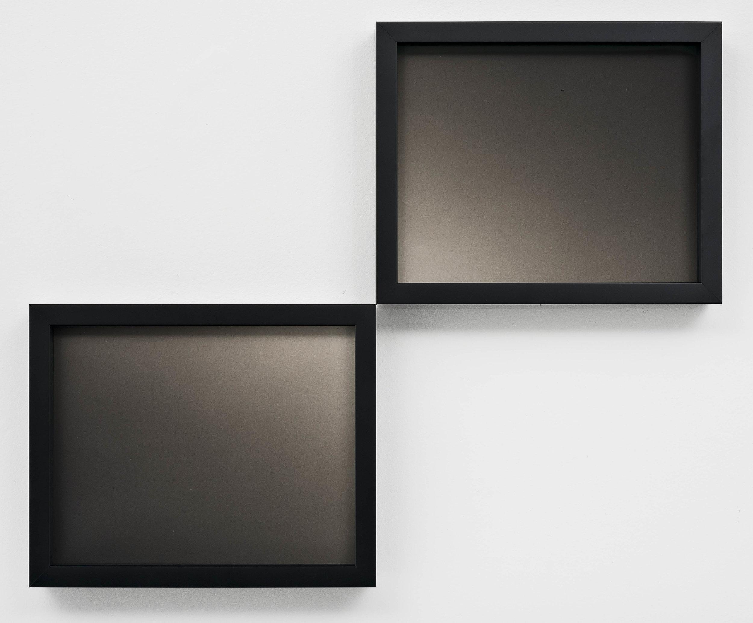 SCOTT B. DAVIS  Double Nova , 2019 Platinum-palladium prints, diptych Overall 17.75 x 21.75 inches Edition 1/3