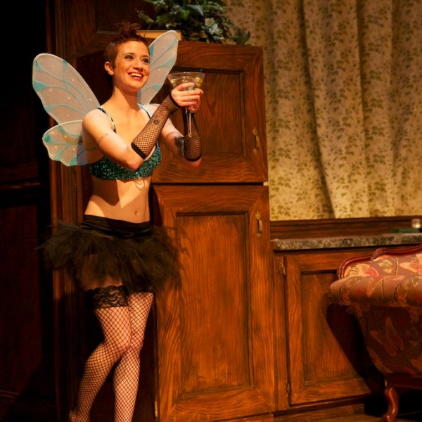 Slightly Spitfire  the Fiesty Sprite  Whether scampering for skivvies or strutting her solo stuff, Spitfire ignites surprise and delight.