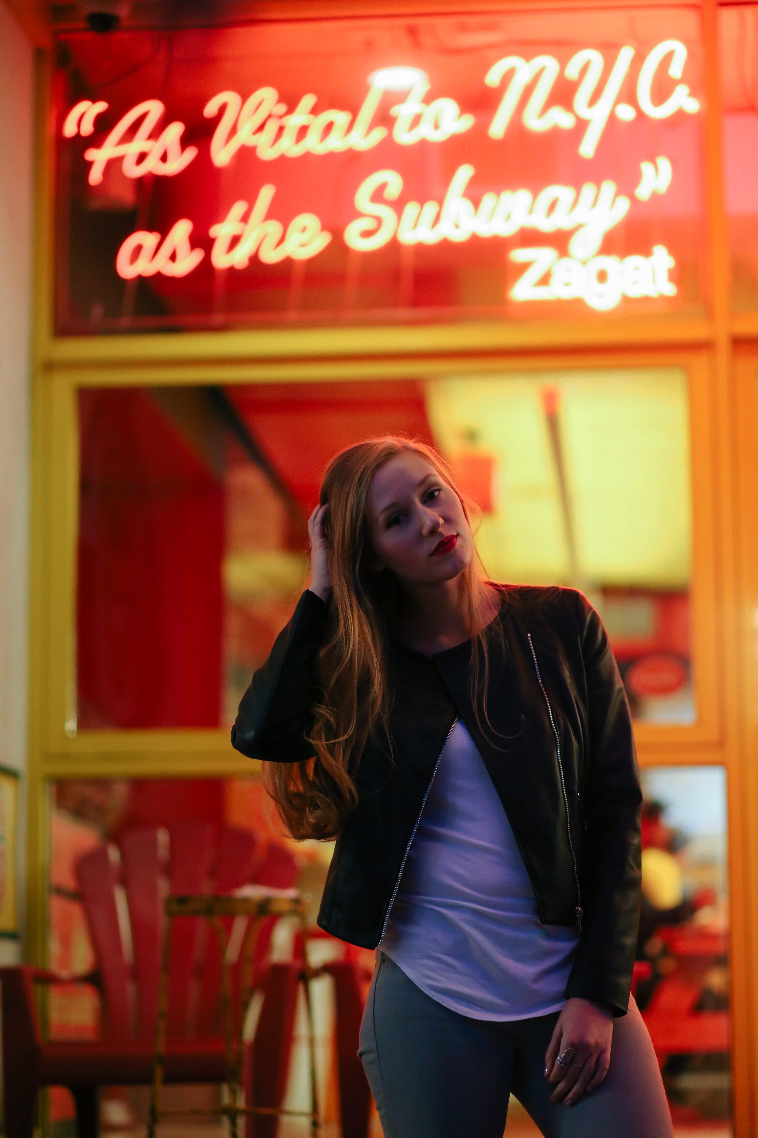 Photographer: Shay Paresh | Lips: Chanel Passion Rouge | Jacket: Zara