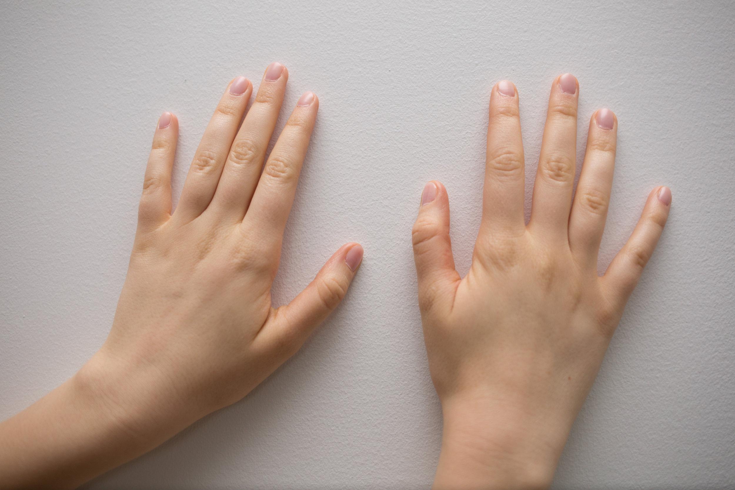 Front of Hands