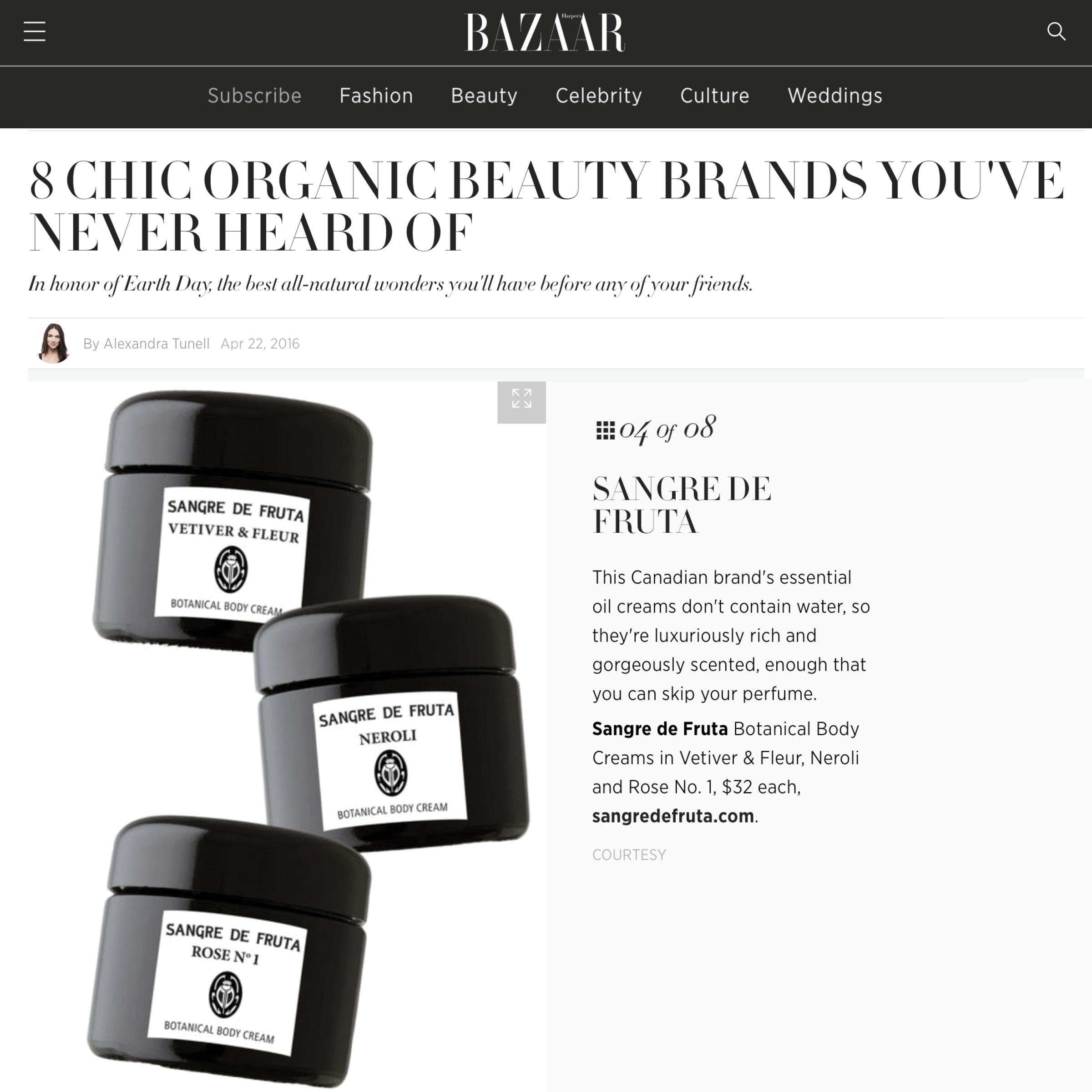 Harpers Bazaar April 22