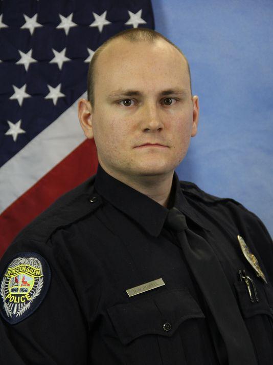 Officer Nicholas Wayne Powell;  Photo: Winston-Salem Police Dept.