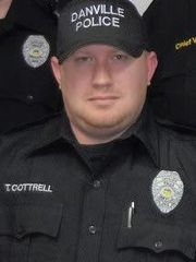 Officer Thomas Cottrell;  Photo: Columbus Div. of Police/Facebook