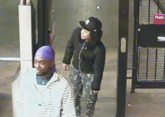 Two of the unidentified suspects;  Photo: NYPD/nydailynews.com