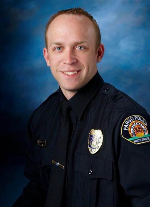 Officer Jason Moszer;  Photo: Fargo Police Department