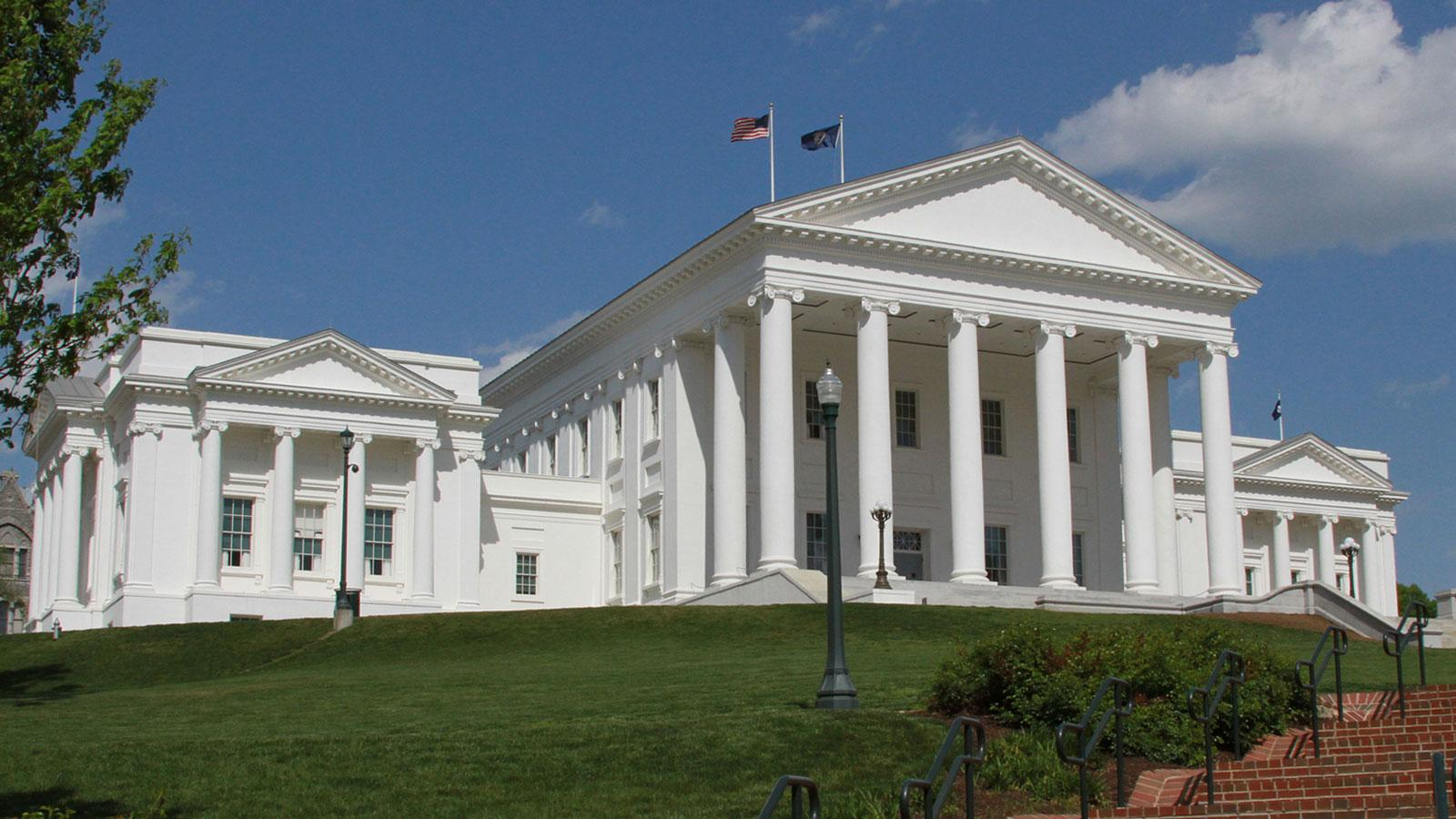 Virginia State Capitol;  Photo: Jonathan Nestor