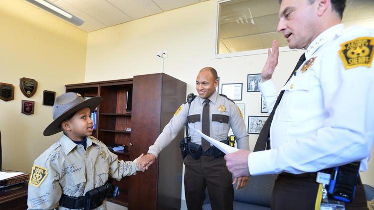 Deputy Kaleb Holder;  Photo:April Bartholomew / The Morning Call