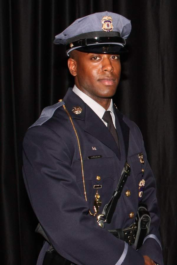 Officer Jacai Colson;  Photo: Prince George's County Police Dept.