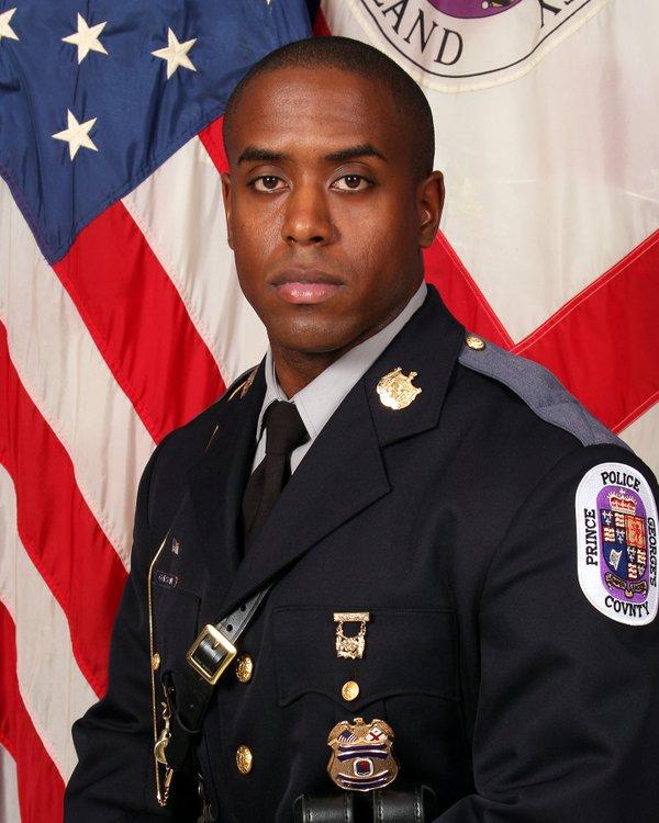Officer Jacai Colson;  Photo: @PGPDNews