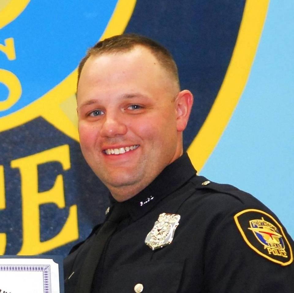 Officer Matt Pearce;  Photo: Ft. Worth Police Dept.