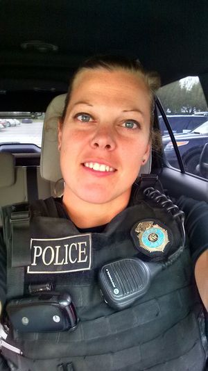 Officer Kerrie Orozco;  Photo: omaha.com
