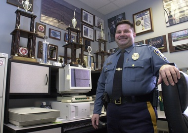 Retired Lt. Joe Franklin;  Photo: Jerry McCrea via nj.com