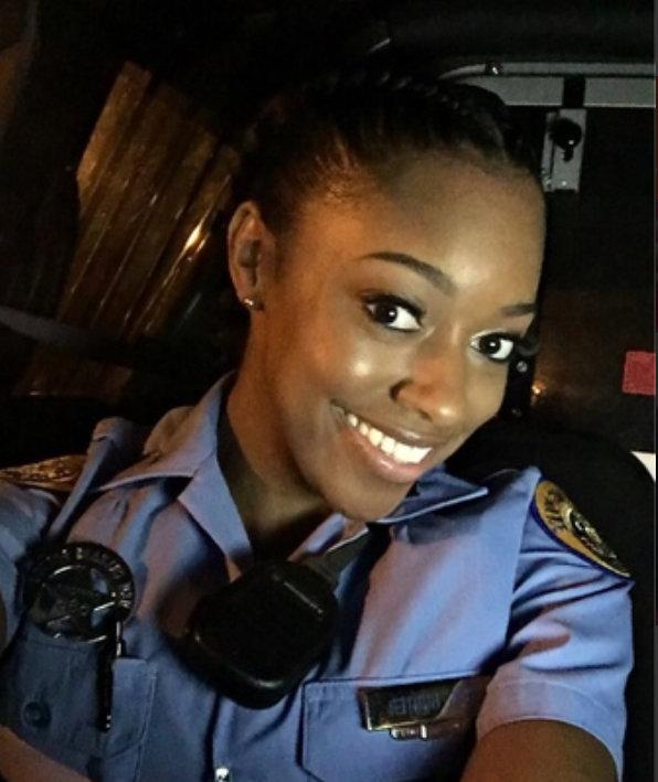 Officer Natasha Hunter;  Photo: via nola.com