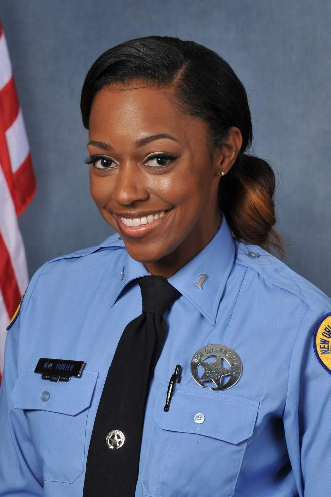 Officer Natasha Hunter;  Photo: NOPD