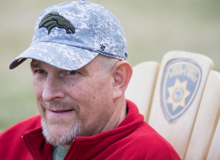 Deputy Mike Hutchinson;  Photo: Matt Dixon/World Herald