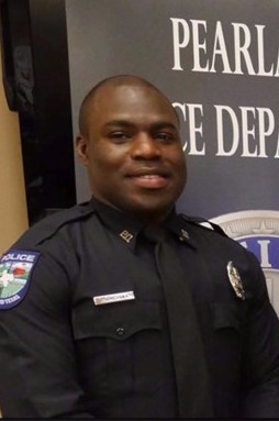 Officer Endy Ekpanya;  Photo: via khou.com
