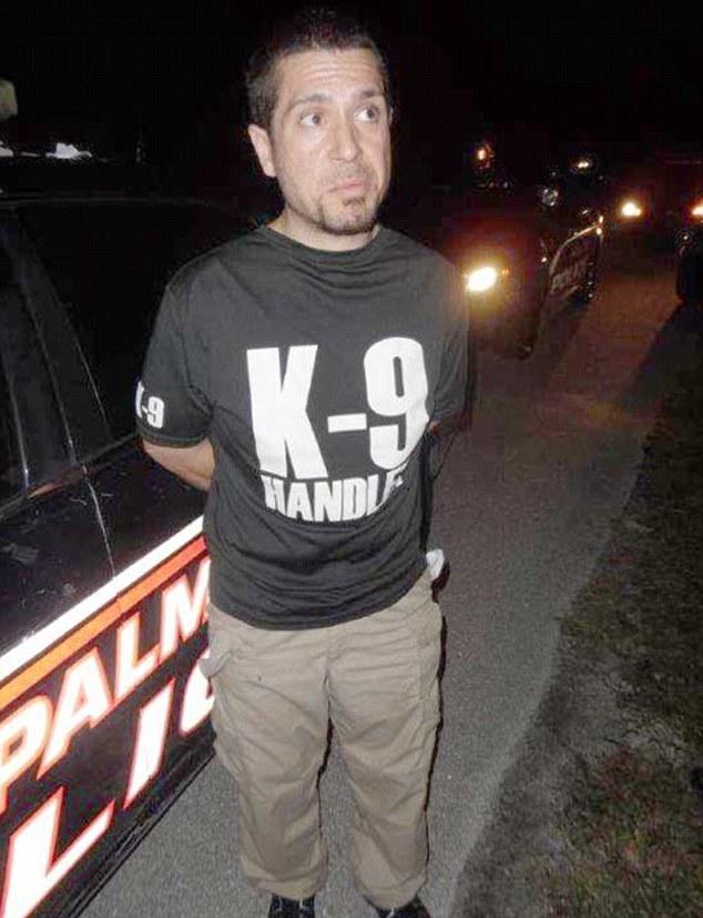 Anthony Ottaviano;  Photo: Palm Bay Police Dept.