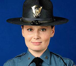 Trooper Jaimie Jursevics;  Photo: Colorado State Police