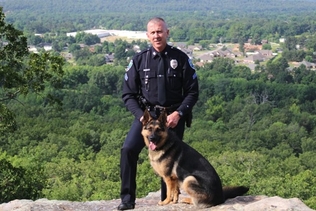 K9 Kina;  Photo: via Greenwood Police Chief Will Dawson