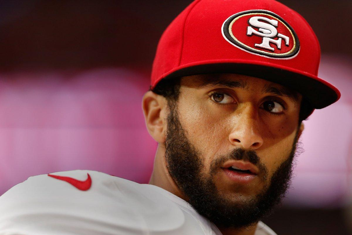 49ers quarterback Colin Kaepernick;  Photo: Christian Petersen/Getty