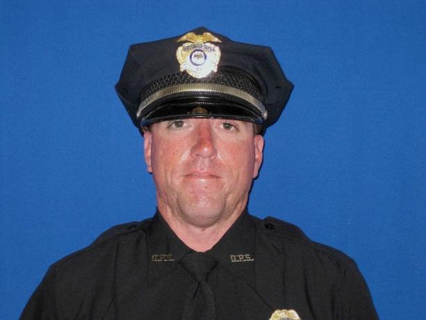 Officer Clint Corvinus;  Photo: Alamogordo Police Dept.