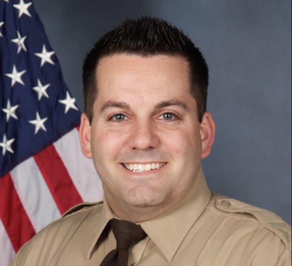 Officer Blake Snyder;  Photo: via fox2now.com