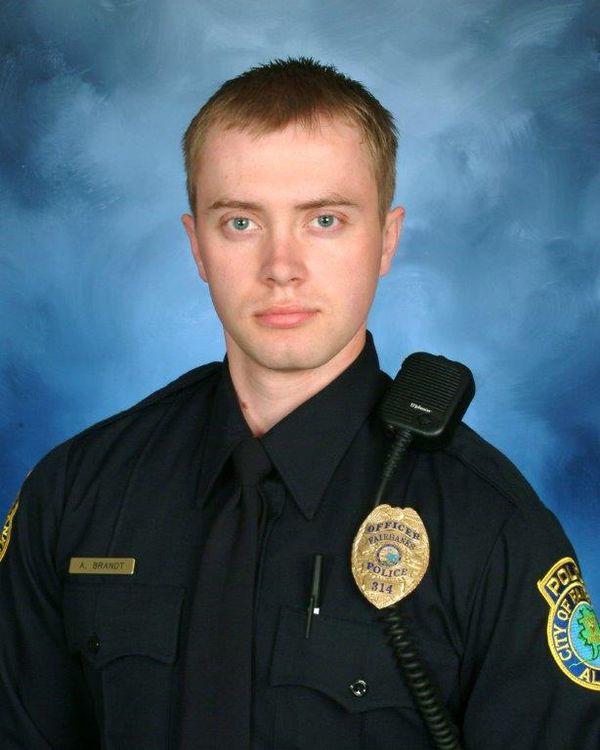Sgt. Allen Brandt;  Photo: Fairbanks Police Dept.