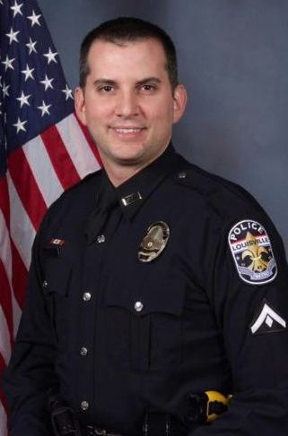 Detective Jason Schweitzer;  Photo: Louisville Metro Police
