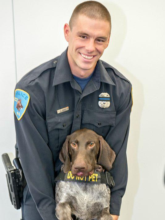 Officer Collin Rose;  Photo: Wayne State University Police