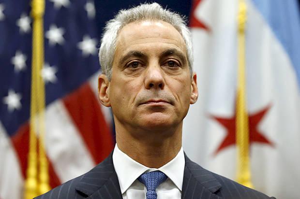 Chicago Rahm Emanuel;  Photo: Jim Young/Reuters