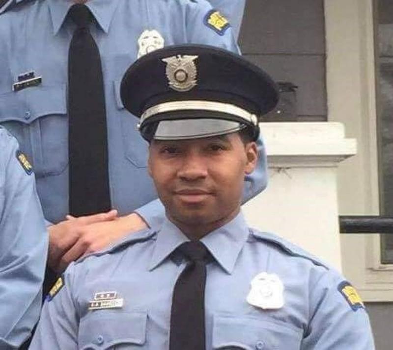 Officer Byron Branch;  Photo: via daytondailynews.com