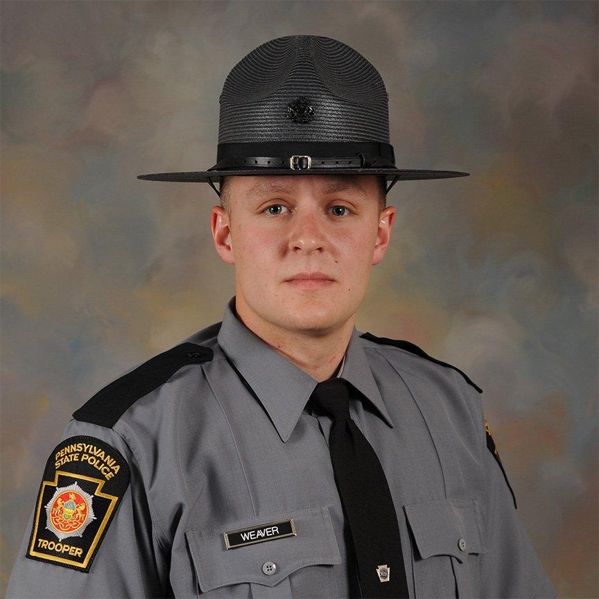 Trooper Landon Weaver;  Photo: PA State Police