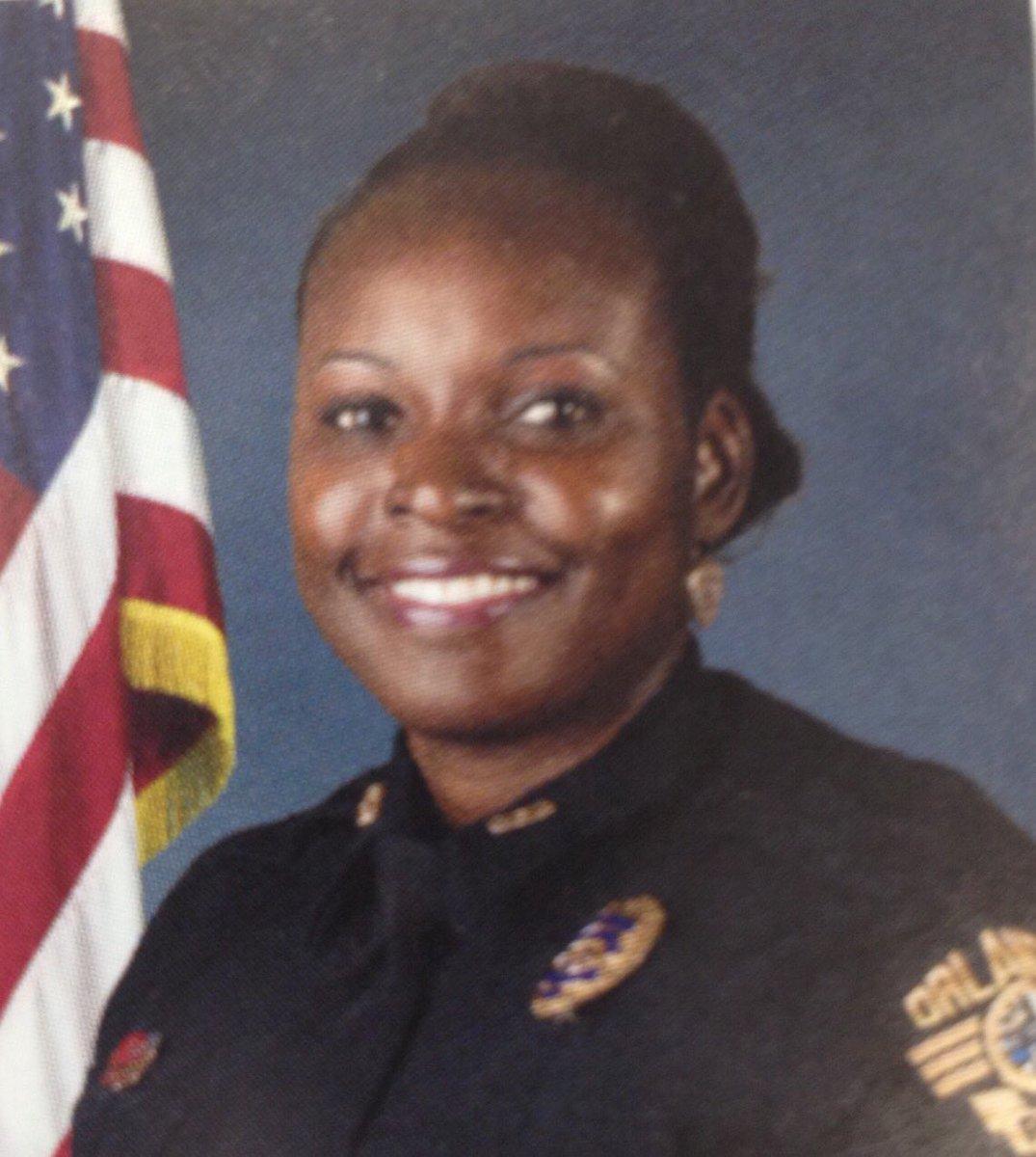 Master Sergeant Debra Clayton;  Photo: via @OrlandoPolice