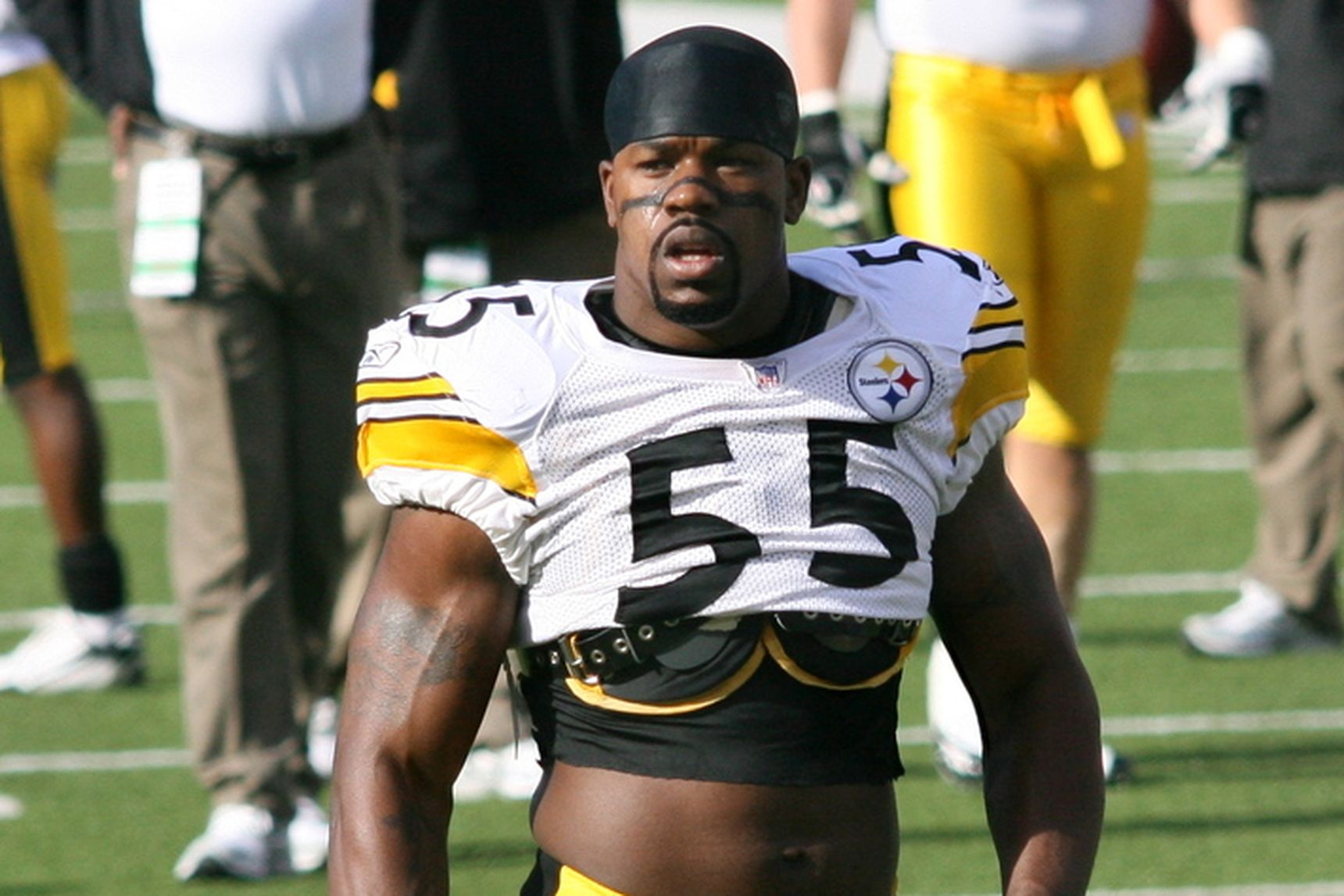 Joey Porter;  Photo: via behindthesteelcurtain.com
