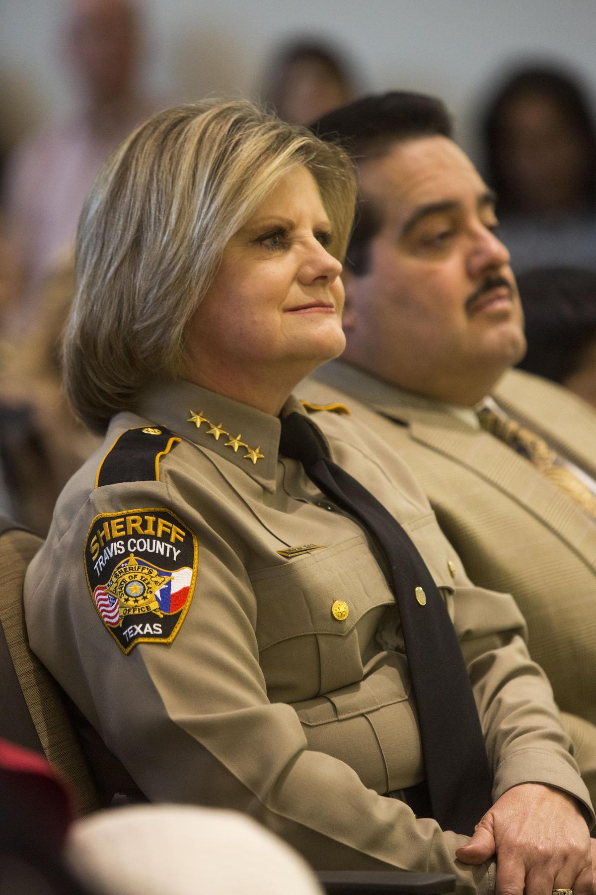 Sheriff Sally Hernandez;  Photo: Gabriel Cristover Perez