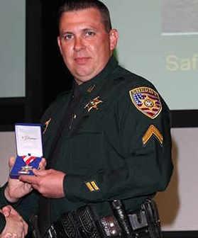 Deputy Shawn Anderson;  Photo: East Baton Rouge Sheriff's Office