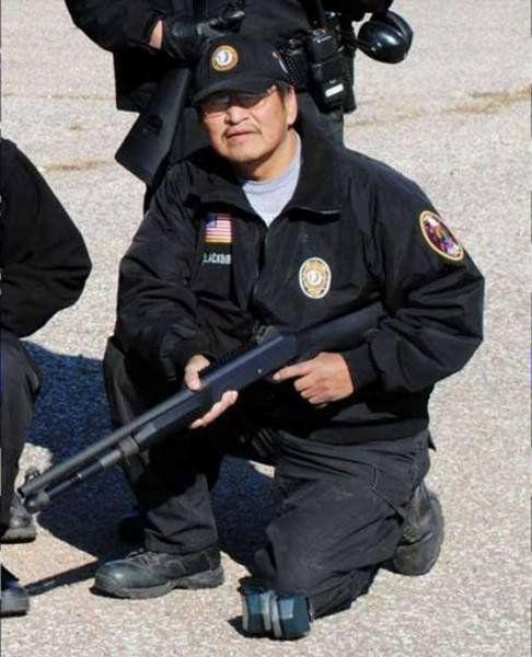 Sergeant Curtis Blackbird;  Photo: via omaha.com