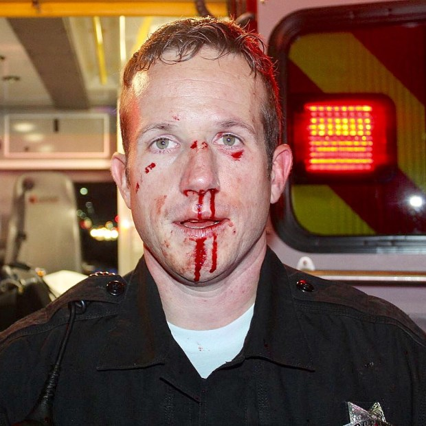 Sergeant D. Nelson;  Photo: via Facebook @richmondpolicecali