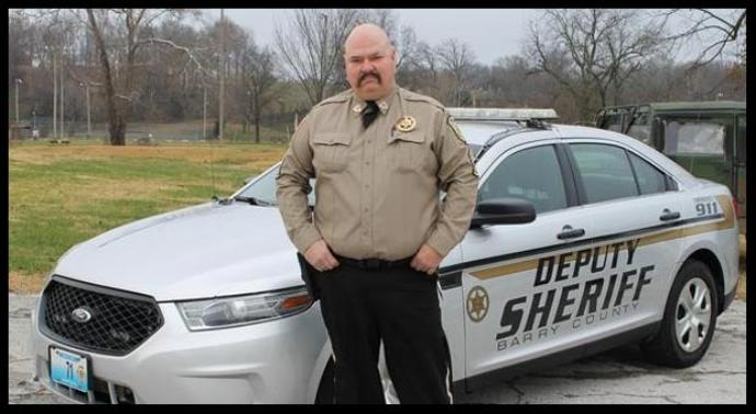 Deputy Carl Cosper;  Photo: Barry County Sheriff's Dept.
