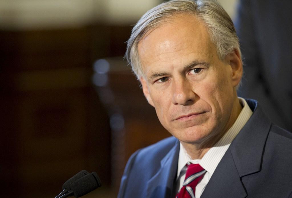 Texas Gov. Greg Abbott;  Photo: via hornfm.com