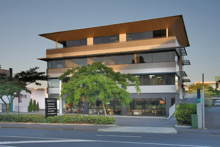 Office and Retail Building by Sang Commercial Architects Auckland