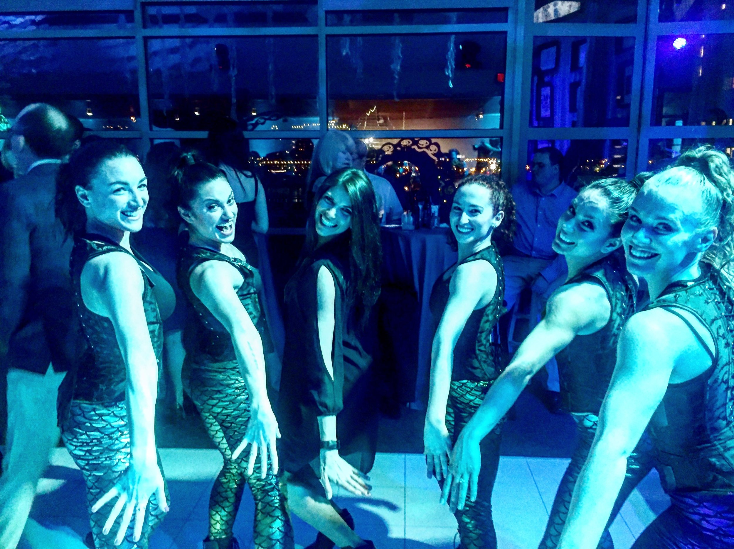 Dancers (Left to Right): Alex Monte Carlo, Alexa Chambers, Kelli Moshen( Director), Sarah McWilliams, Katie Book, Colleen Dougherty.